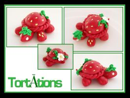 Strawberry the Tiny Tort by Tortations
