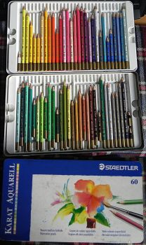 Colour pencils Staedtler by YikYik