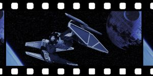 Star Wars Tie Fighter Frame by AdamKop