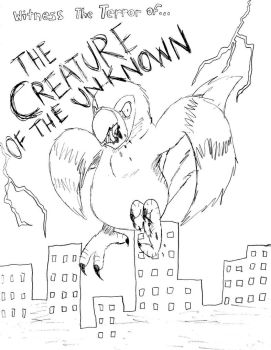 Creature Of The Unknown Poster by KaosJay666