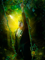 Taehyung / Magical forest by byDurst