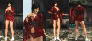 (RELEASE) RED NINJA KURENAI by huchi001