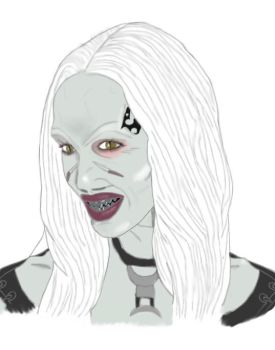 Betty from poster by Hellraiser-89