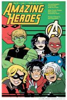 Young Avengers by BillWalko