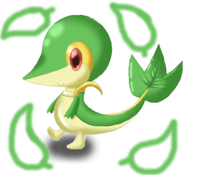 Mini Snivy by Sakura123Cha