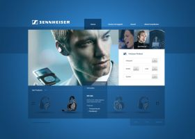Sennheiser Re-Design by Tropfich