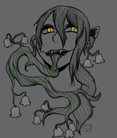 Sprouting Poison by ThePlantCryptid