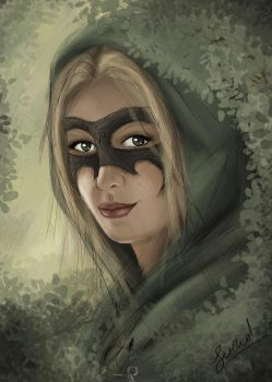 Daughter of Thief and Forest by Cheyanne-Author