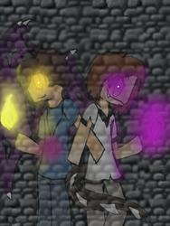 [EnderLox And SkyBrine] Been Here since the End by Luclaus