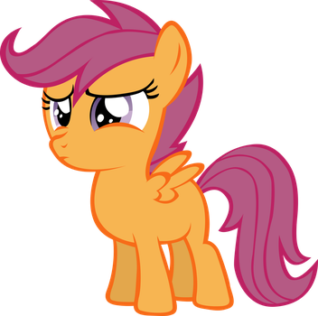 Scootaloo Umm What? by RainbowCrab