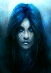 Blue Lady by theDURRRRIAN