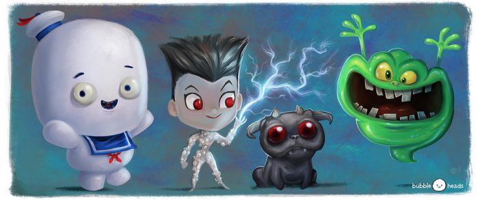 Bubbleheads: I ain't fraid of no ghosts! by JeffVictor