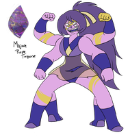 Gem Fusion - Mojave Purple Turquoise by JoTehDemonicPickle