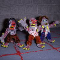 Zombie Minis by the-gil-monster