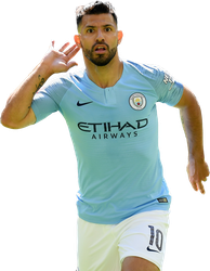Aguero render by GraphicSamHD