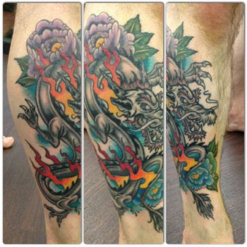 Dragon Tattoo by itchysack