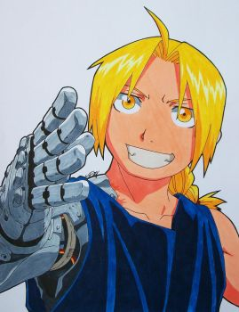 ''C'mon, It's Time To Celebrate!'' Edward Elric by SakakiTheMastermind