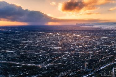 The veins of Iceland by LinsenSchuss