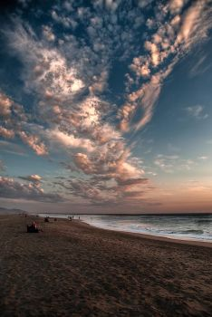Clouds Over the Beach by nathanspotts