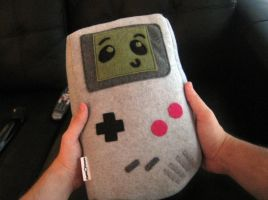 Gameboy Plush 2 by ChannelChangers