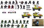 ODST special and Scout sprites by Colonel-Caboose