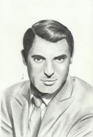 #2: Cary Grant by DominicDrawsArt
