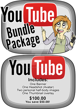 Commission YouTube Bundle Package by Leemak