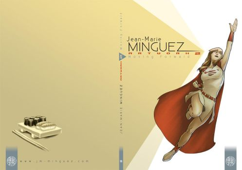 Artwork 2 : Moving Forward cover and back cover by Kromdor