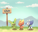 Off To Havai by zerudez