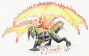 Flammifer by Paperiapina