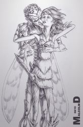 Marianne and The Bog King By MalcolmD by Chup-at-Cabra