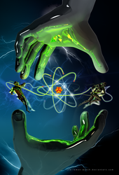 The Atom Control (vertical) by THE-LEMON-WATCH