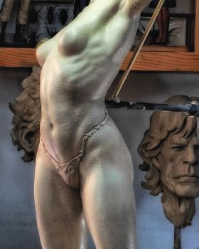 Archer sculpture. by MarkNewman