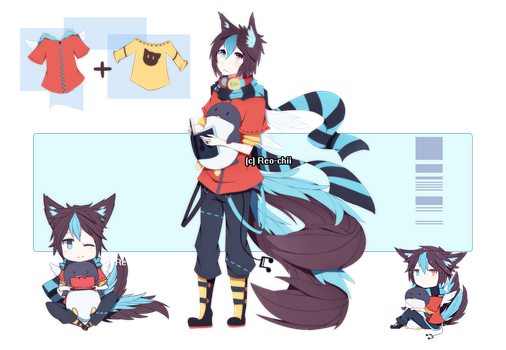 Twin-tailed Fox Adopt || CLOSED by Reo-chii