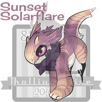 Sunset Solarflare JR Auction Closed by Thalliumfire