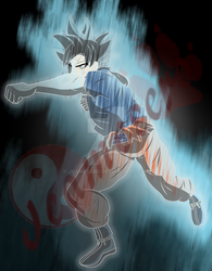 Ultra Instinct *activated* by Jeamesero