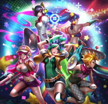 League of Legends Arcade Hero by Liang-Xing
