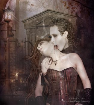 Red Lies for Black Kisses - Bleeding is a Luxury by LostMemoryOfADream