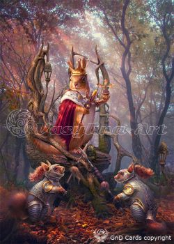 King of Squirrels by Vasylina