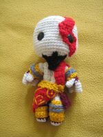 Kratos Sackboy by Goldenjellybean