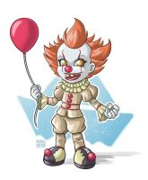Pennywise by MauroAlbatros
