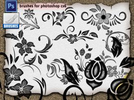 Decorative Brushes 05 by roula33