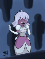 The sapphire that can predict the present! by MitConnors