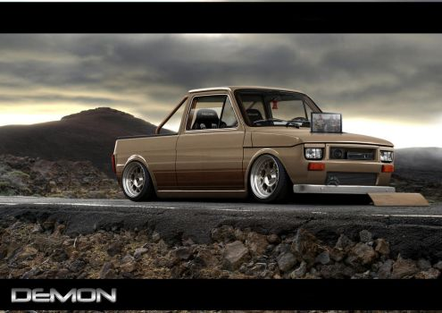 Fiat 126 Pickup xbox by TMSVirtualTuning