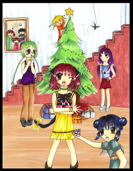 Tokyo Mew Mew: Merry Christmas by OmgItsEmily