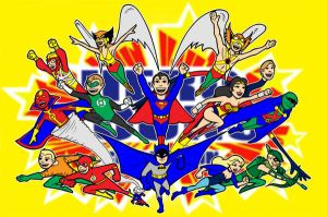 Justice League of america by AlanSchell