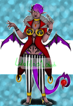 Demon Adoptable Auction (Points/Paypal) by Lolalilacs