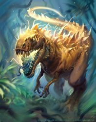 Charged Devilsaur by Mr--Jack