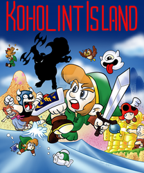 Koholint Island for Gameboy by SoVeryUnofficial