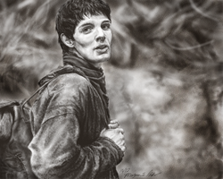 His name...Merlin by MoPotter